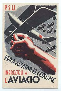 Per a aixafar el feixisme ingresseu a l'aviacio